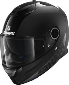 SHARK Spartan 1.2 Dual Black Noir mat/brillant BLK