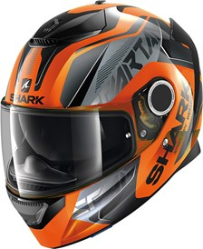 SHARK Spartan 1.2 Karken Orange-Noir-Noir OKK
