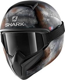 SHARK Vancore 2 Flare Mat Noir-Anthracite-Orange KAO