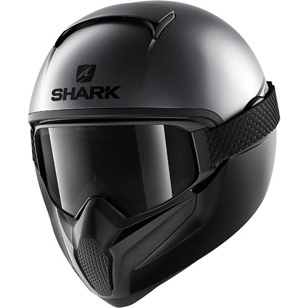 SHARK Vancore 2 Street-Neon Mat Anthracite-Noir-Noir AKK