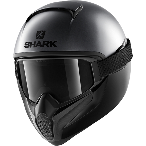 SHARK Vancore 2 Street-Neon Mat Antraciet-Zwart-Zwart AKK