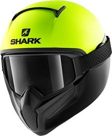 SHARK Vancore 2 Street-Neon Mat Geel-Zwart-Zwart YKK