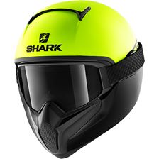 SHARK Vancore 2 Street-Neon Mat Jaune-Noir-Noir YKK