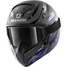 SHARK Vancore 2 Kanhji Mat Antraciet-Zwart-Blauw AKB