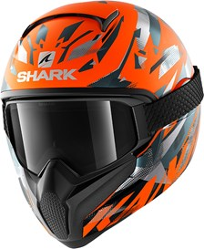 SHARK Vancore 2 Kanhji Mat Orange-Anthracite-Anthracite OAA