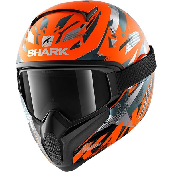 SHARK Vancore 2 Kanhji Mat Orange-Anthracite-Anthracite OAA