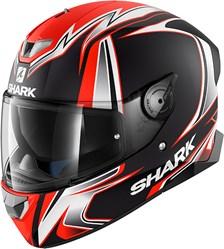 SHARK Skwal 2 Rep. Sykes Mat Noir-Blanc-Orange KWO