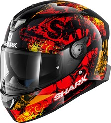 SHARK Skwal 2 Nuk'hem Noir-Rouge-Orange KRO