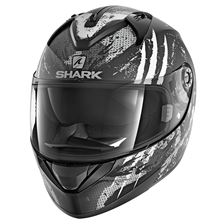 SHARK Ridill 1.2 Threezy Mat Zwart-Wit-Antraciet KWA