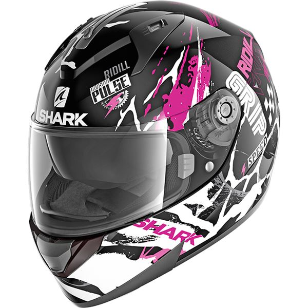 SHARK Ridill 1.2 Drift-R Lady Zwart-Paars-Wit KVW