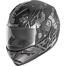 SHARK Ridill 1.2 Drift-R Mat Noir-Anthracite-Argent KAS