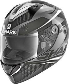 SHARK Ridill 1.2 Stratom Anthracite-Noir-Blanc AKW