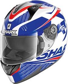 SHARK Ridill 1.2 Stratom Wit-Blauw-Rood WBR