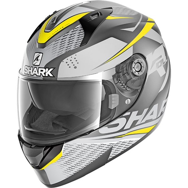 SHARK Ridill 1.2 Stratom Mat Anthracite-Anthracite-Jaune AAY