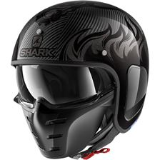 SHARK S-Drak Carbon Dagon Carbon-Anthracite-Anthracite DAA