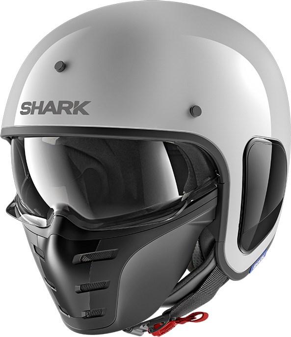 SHARK S-Drak Blank Wit WHU