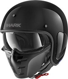 SHARK S-Drak Blank Noir BLK