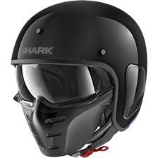 SHARK S-Drak Blank Zwart BLK