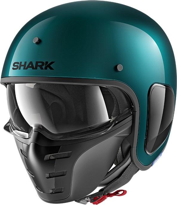 SHARK S-Drak Blank Groen GGM