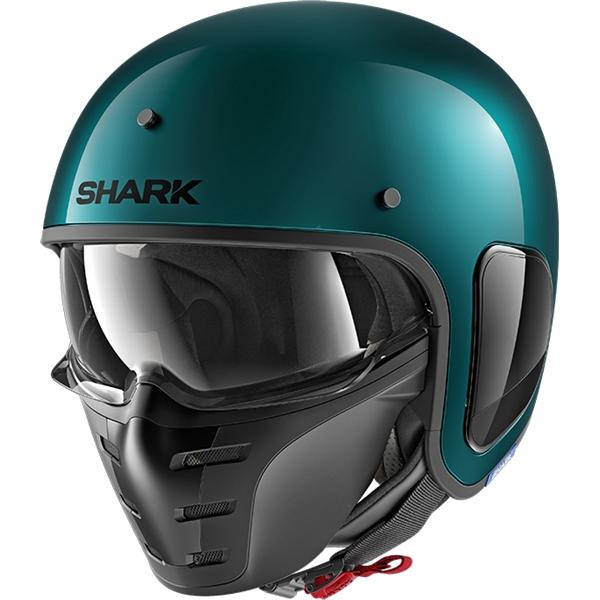 SHARK S-Drak Blank Vert GGM