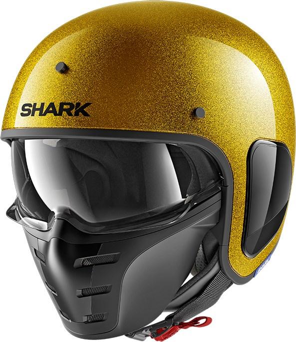 SHARK S-Drak Glitter Goud-Goud-Glitter QQX