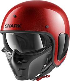 SHARK S-Drak Glitter Rood-Rood-Glitter RRX