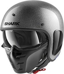 SHARK S-Drak Glitter Argent-Argent-Glitter SSX