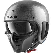 SHARK S-Drak Glitter Zilver-Zilver-Glitter SSX