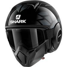 SHARK Street-Drak Hurok Zwart-Zilver-Zwart KSK