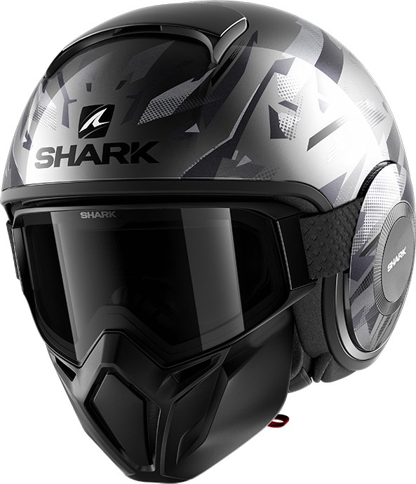 SHARK Street-Drak Kanhji Antraciet-Zwart-Antraciet AKA