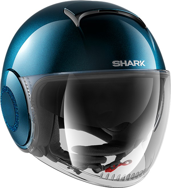 SHARK Nano Crystal Lady Blauw BLM