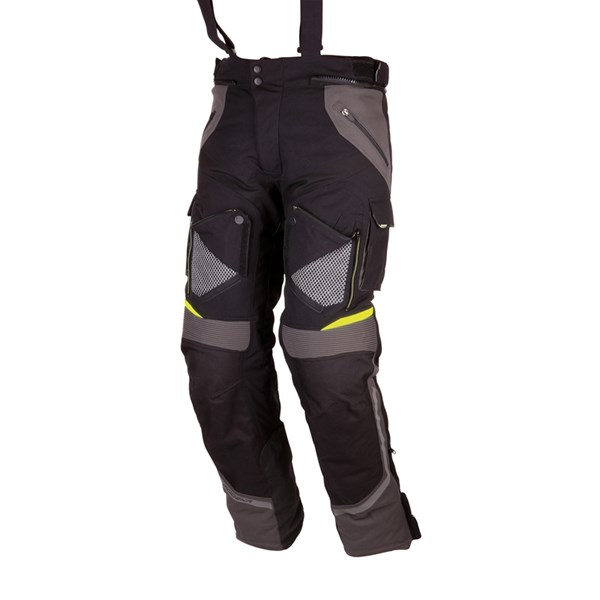 MODEKA Panamericana Pants Zwart-Geel lang