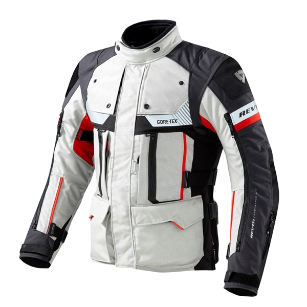 REV'IT! Defender Pro GTX jacket Grijs - Rood
