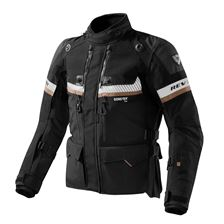 REV'IT! Dominator GTX jacket Noir - Sable