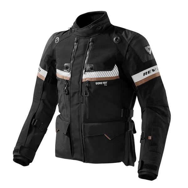 REV'IT! Dominator GTX jacket Zwart - Zand