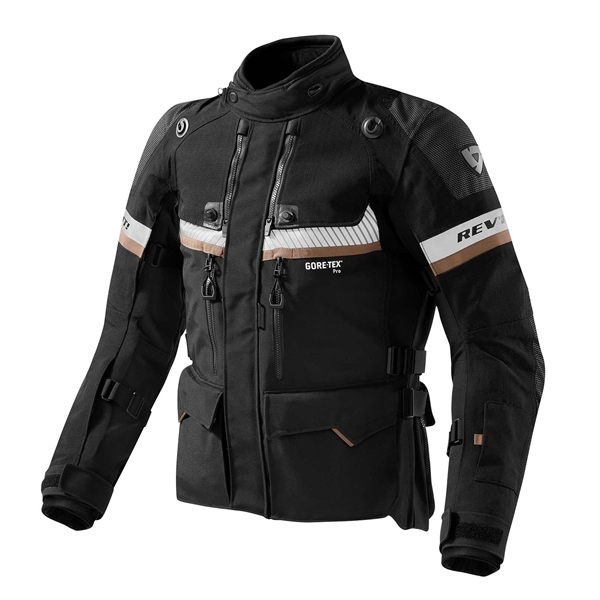 REV'IT! Dominator GTX jacket Zwart - Zand