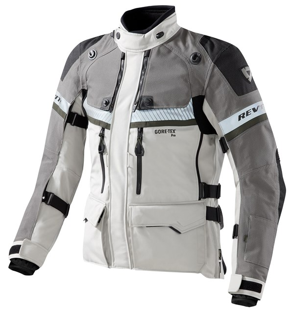 REV'IT! Dominator GTX jacket Grijs - Groen