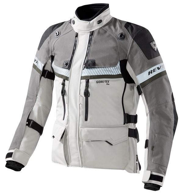 REV'IT! Dominator GTX jacket Grijs - Groen