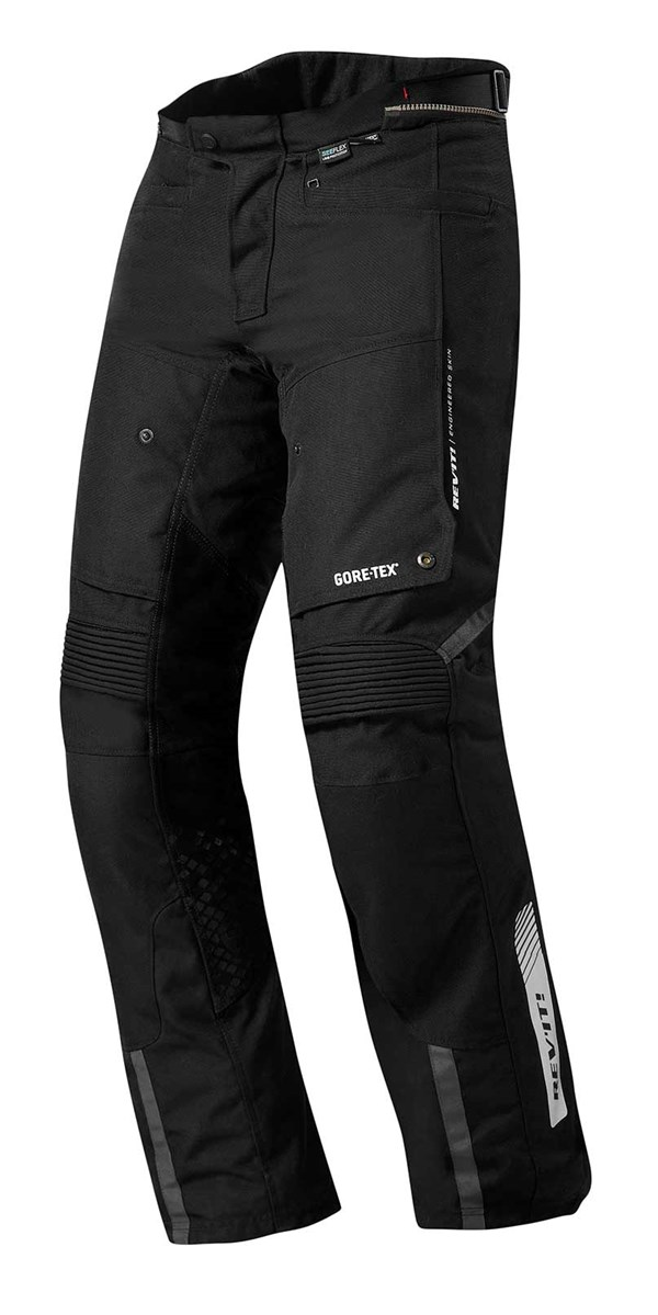 REV'IT! Defender Pro GTX pants Noir Courtes