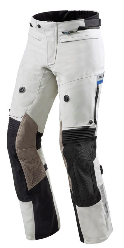 REV'IT! Dominator 2 GTX pants Gris - Noir Courtes
