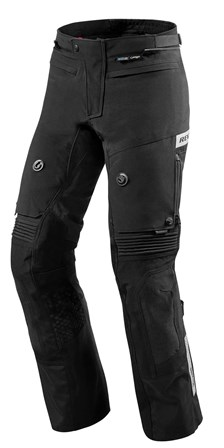 REV'IT! Dominator 2 GTX pants Noir Courtes
