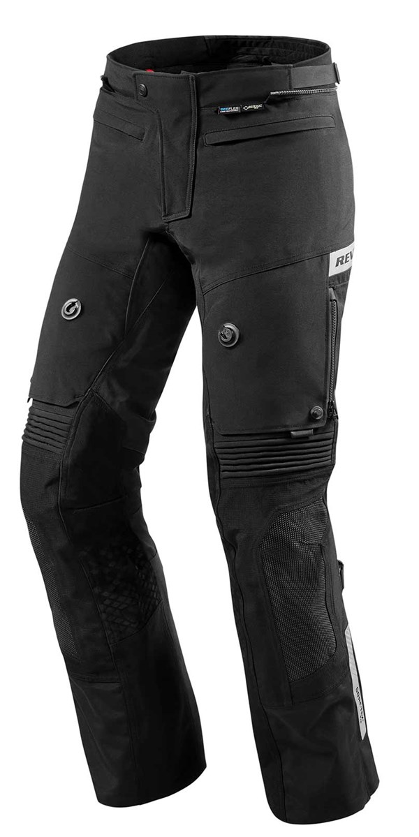 REV'IT! Dominator 2 GTX pants Zwart Kort