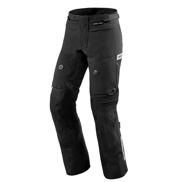 REV'IT! Dominator 2 GTX pants Noir Courtes