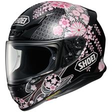 SHOEI NXR Harmonic Noir-Rose-Blanc TC-10