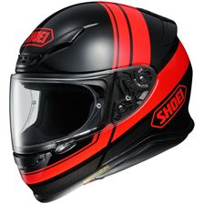 SHOEI NXR Philosopher Noir-Rouge-Gris TC-1