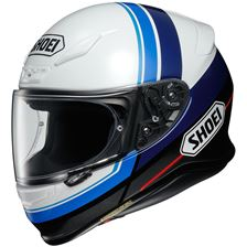 SHOEI NXR Philosopher Blanc-Bleu-Noir-Gris TC-2