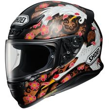 SHOEI NXR Transcend Noir-Blanc-Marron TC-10