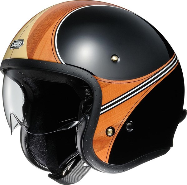 SHOEI J.O Waimea Noir-Marron TC-10
