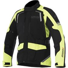 ALPINESTARS Andes V2 Drystar Jacket Noir-Jaune Fluo