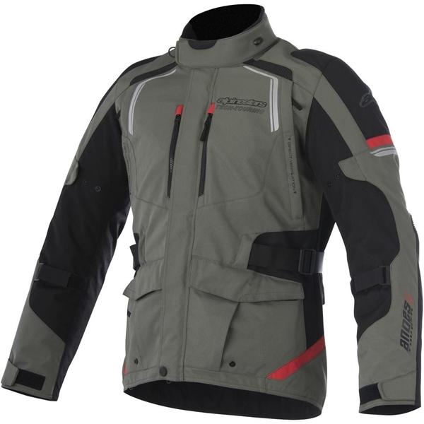 ALPINESTARS Andes V2 Drystar Jacket Groen-Zwart-Rood